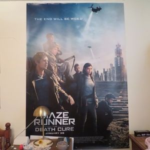 Other - Giant Maze Runner poster FROM LA PREMIERE!!